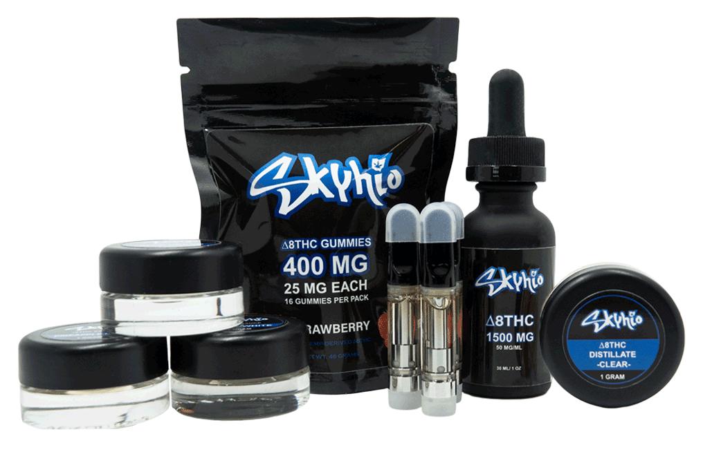 Delta-8-THC-product-lineup-skyhio